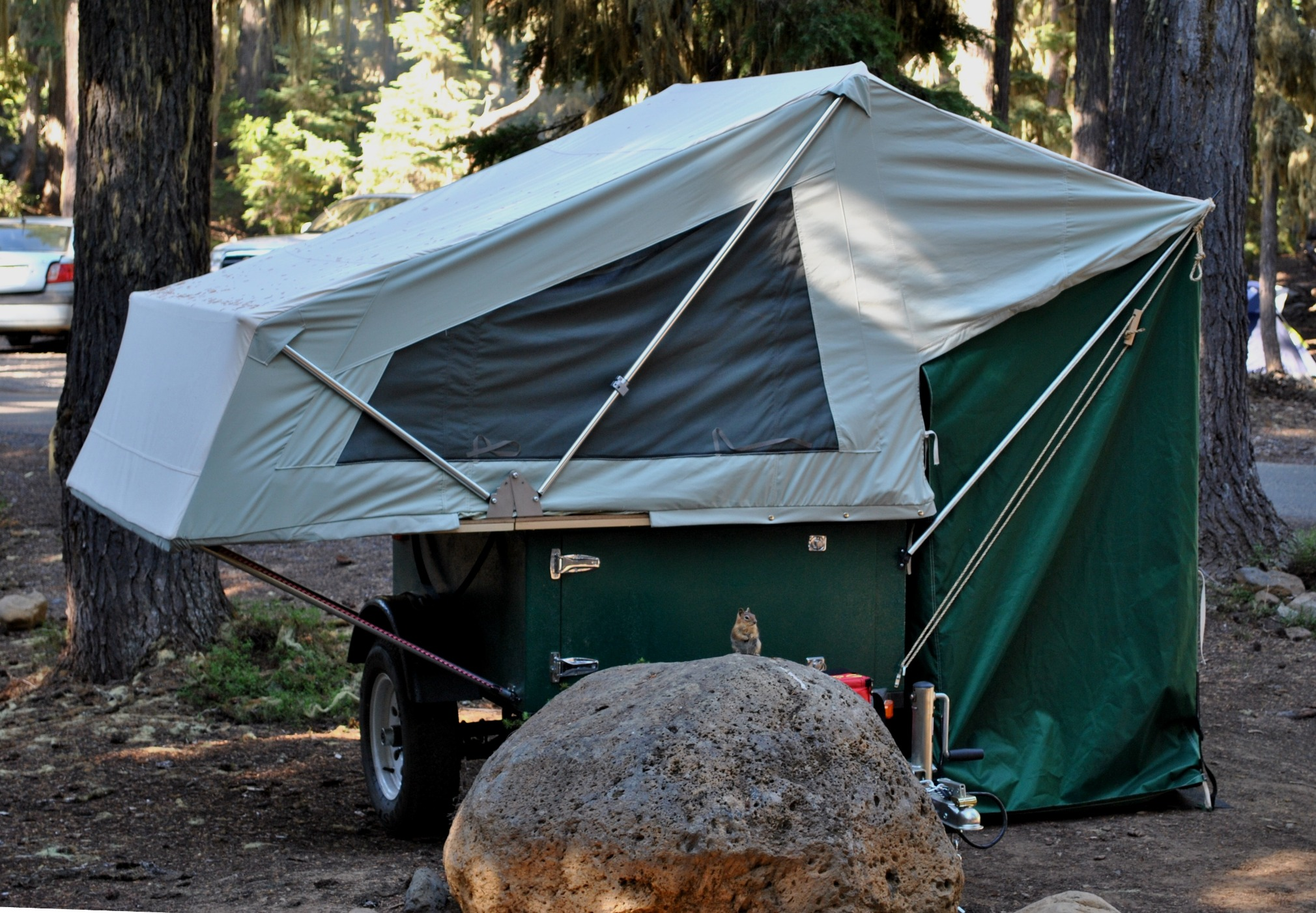 Camping Tent Made in USA MOAB Folding Tent Unit