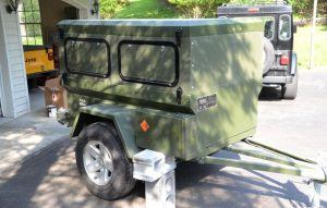 Compact Camping Trailer Ammo Can Conversion