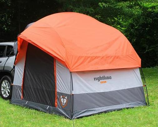 Ground Tent Compact Camping Trailer Garage Sale
