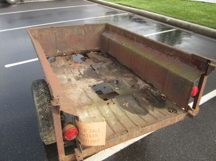 M416 Military Trailer Replacement Tub by Dinoot Trailers