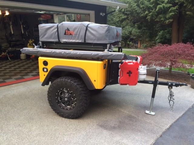 Dinoot DIY Camping Trailer Build Story
