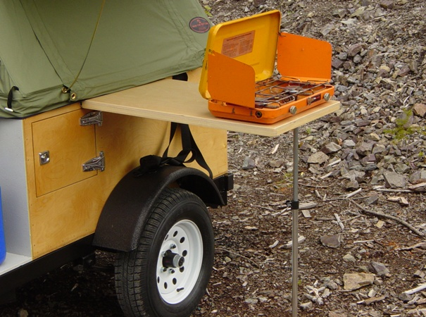 Camping Side Table DIY removeable side table kit