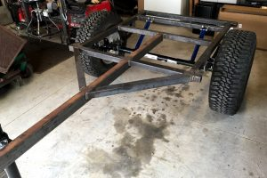 Jeep Trailer Frame 5'