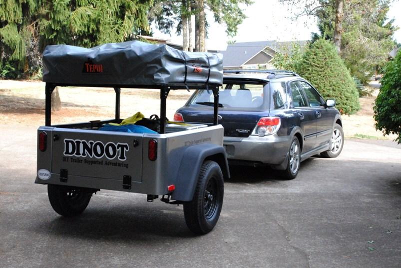 modular bolt together trailer racks dinoot Jeep trailer