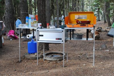 Compact camping trailer diy compact camping concepts for Kitchen ideas mira road