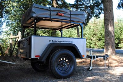 Compact Camping Trailer Diy Compact Camping Concepts