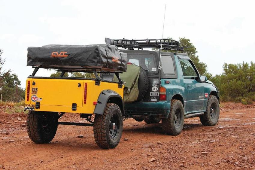 Jeep Trailer Dinoot Jeep Style Trailer Article on Outdoor X4