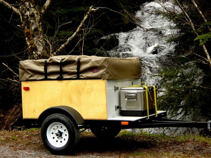Anatomy Of A Tent Topped Camping Trailer Compact Camping
