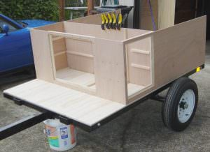 compact camping trailer build plans overview of build at home camping trailer