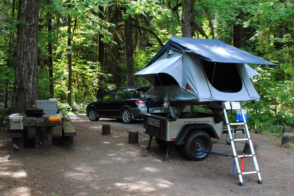 Compact Camping Concepts No Weld Trailer Racks
