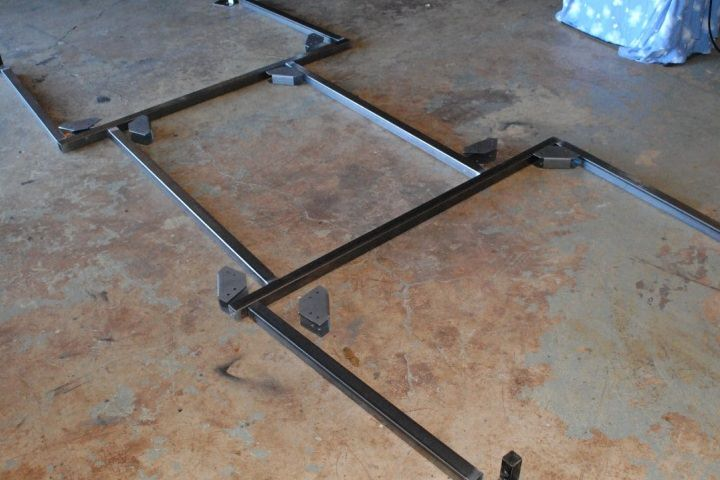 How to make a rack for your camping trailer or gear hauler
