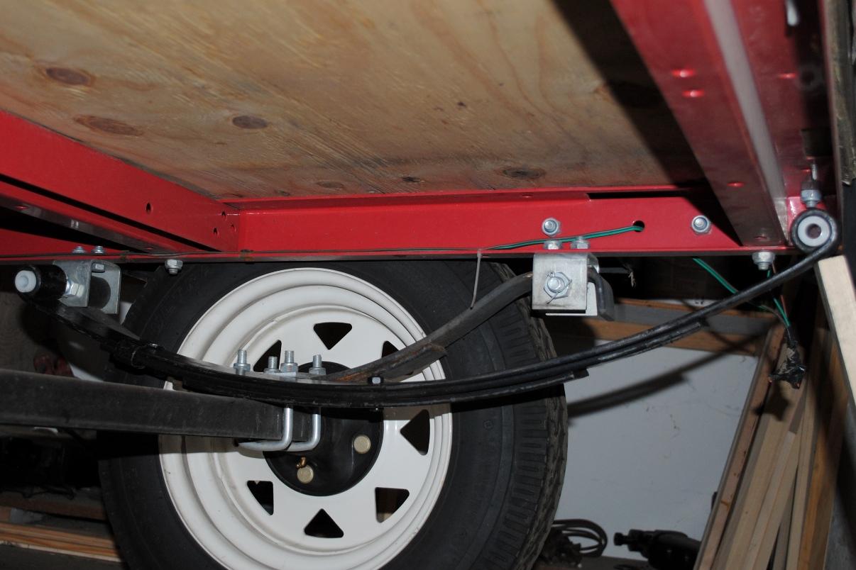 DIY Trailer Frame Spring Kit Harbor Freight