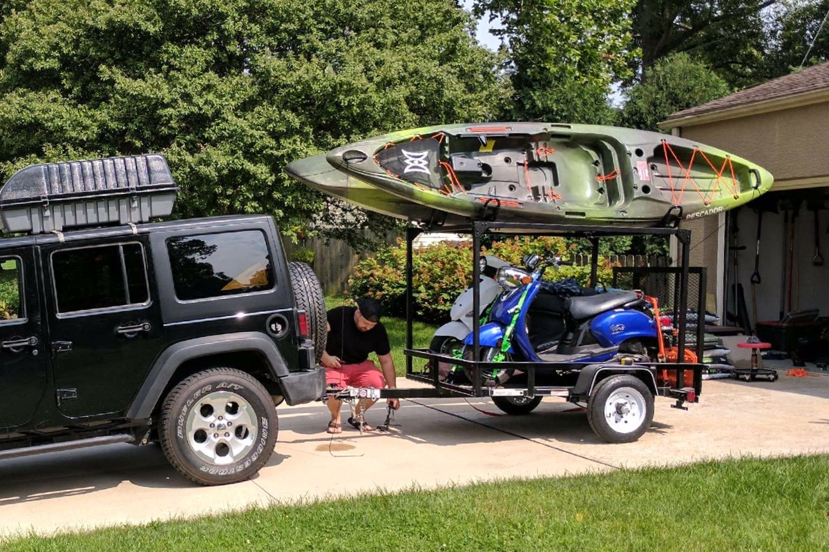 Diy Trailer Racks Compact Camping Concepts