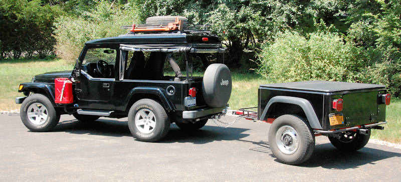 Dinoot J-Series Jeep Trailer by Customer Jeff