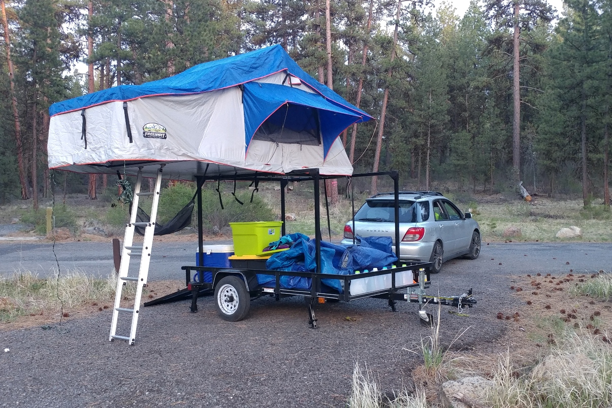 Trailer Rack Comparisons Compact Camping Concepts