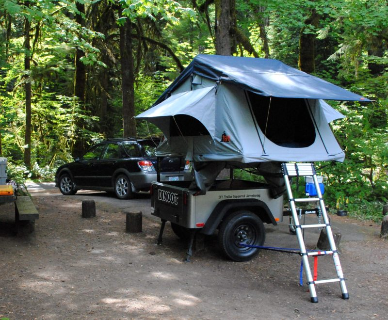 Let S Build Something Compact Camping Trailers