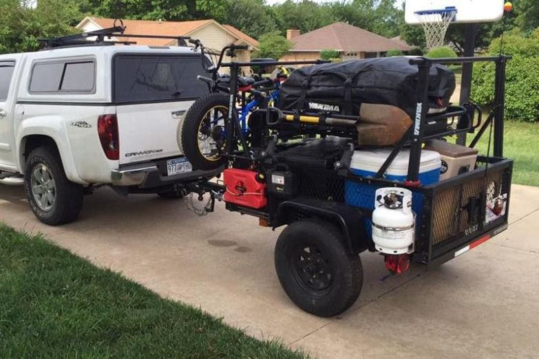 Trailer Racks DIY Build at Home Rack Kit from Compact Camping Trailers