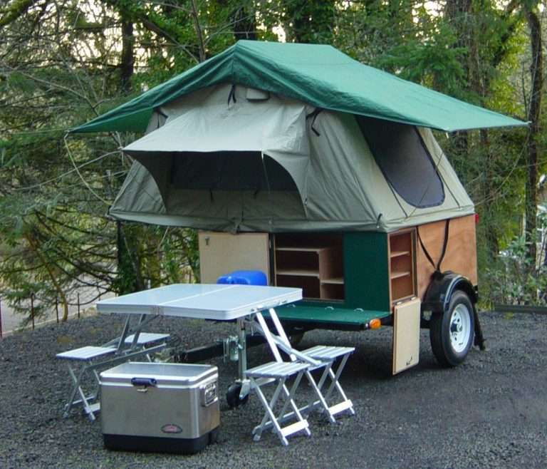 Explorer Box by Compact camping trailers