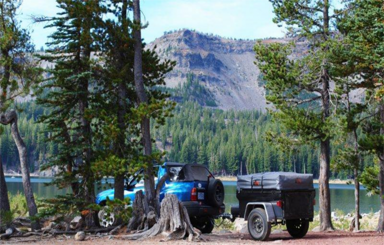 RTT from Compact Camping Concepts on M416 Style Dinoot Trailer